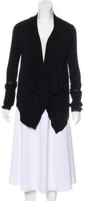 Ramy Brook Merino Wool Asymmetrical Cardigan