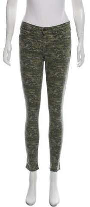 Rag & Bone Printed Skinny Pants