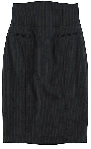 Rag & Bone Highwaist Pinstripe Pencil Skirt