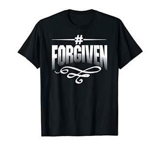 Hashtag Forgiven Jesus Christian T-Shirt Christmas Gift