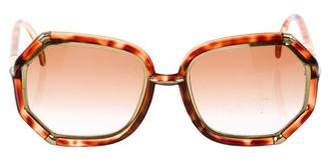 Ted Lapidus Oversize Tinted Sunglasses