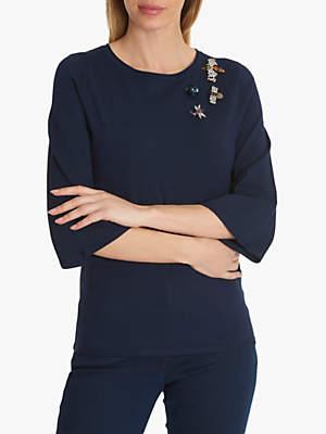 Betty Barclay Fine Knit Embellished Jumper