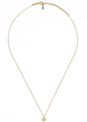 Gucci GG Running necklace with topaz