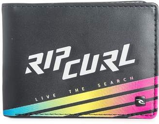 Rip Curl Bi-fold Wallet with CC, Note and Coin Pockets ~ Slant