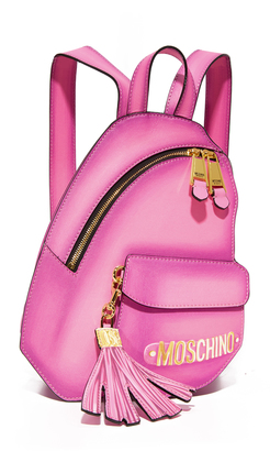 Moschino Backpack $1,595 thestylecure.com