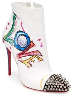 Christian Louboutin Love Is A Boot 100 Leather Booties