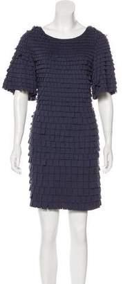 3.1 Phillip Lim Fringe-Trimmed Mini Dress