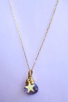 Bar Bar Wired Stone Necklace