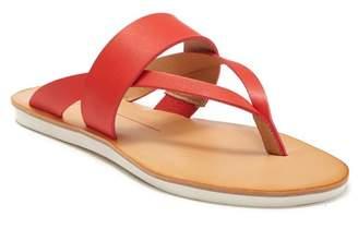 Dolce Vita Nia Snake Print Sport Thong Sandal