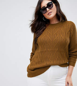 Junarose Cable Sweater