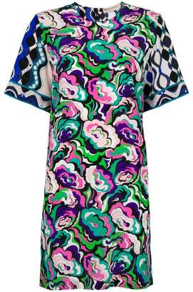 Emilio Pucci abstract floral T-shirt dress