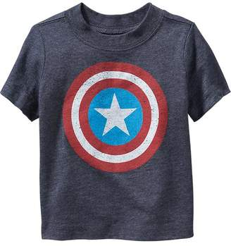 Old Navy Marvel Captain America Graphic Tee for Toddler
