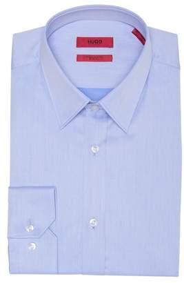 BOSS Solid Extra Slim Fit Dress Shirt