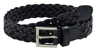 Mango man MANGO MAN Braided leather belt