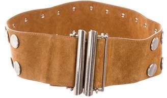 Etro Studded Waist Belt