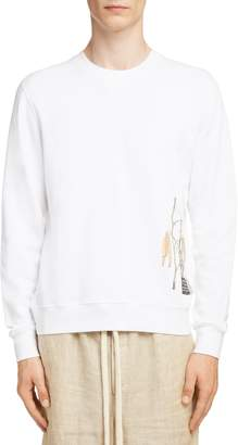 Loewe Charles Rennie Mackintosh Collection Botanical Print Sweatshirt