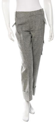 Boy. by Band of Outsiders Virgin Wool Cropped Pants $110 thestylecure.com