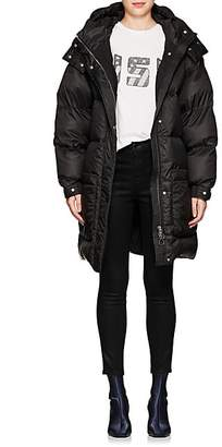 IENKI IENKI Women's Down-Quilted Oversized Belted Coat - Black