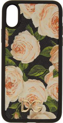 Dolce & Gabbana Multicolor Flowers iPhone X Case