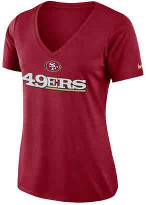 Nike Women's San Francisco 49ers Dri-fit Touch T-Shirt