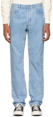 A.P.C. Blue Standard Jeans