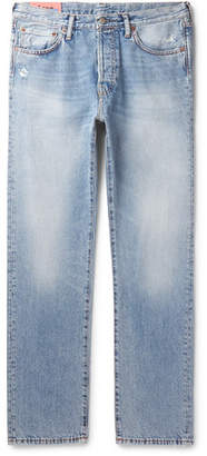 Acne Studios 1996 Trash Denim Jeans - Men - Light blue