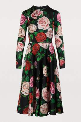 Dolce & Gabbana Silk midi dress