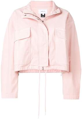 Current/Elliott cropped zip-up jacket