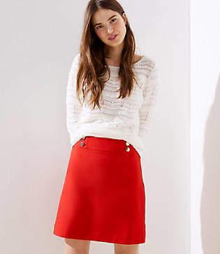 LOFT Sailor Shift Skirt