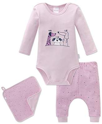 Schiesser Girls' Puppy Love Baby Set Mädchen Underwear,Pack of 3