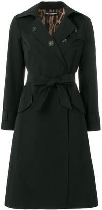Dolce & Gabbana Sacred Heart trench coat