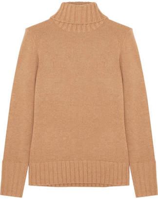 J.Crew Cashmere Turtleneck Sweater - Camel