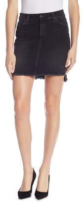 Joe's Jeans Charlie High Waisted Hi-Lo Pencil Skirt