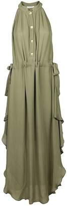 Pierre Balmain Sleeveless Midi Dress
