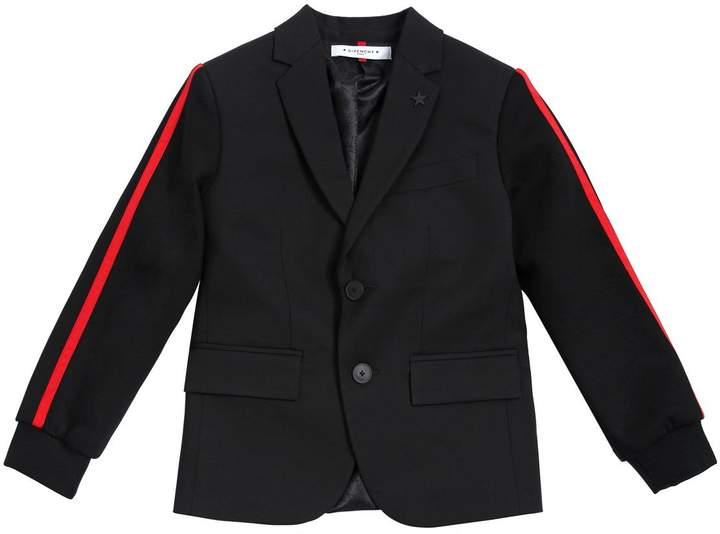 Cool Wool & Double Jersey Blend Jacket