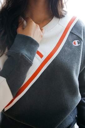 Champion Diagonal Colorblock Sweatshirt