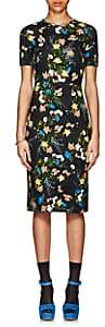 Erdem Women's Essie Floral Ponte Dress - Black Multi