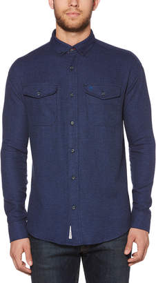 Original Penguin CLASSIC FIT JASPE FLANNEL SHIRT