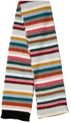 Chloé Mohair-Blend Stripe Scarf w/ Tags