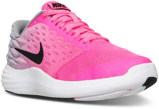 Nike Girls' LunarStelos Running Sneakers from Finish Line $74.99 thestylecure.com