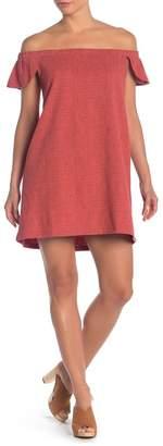 Madewell Eloise Off the Shoulder Dress