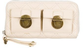 Marc Jacobs Marc Jacobs Quilted Zip-Around Wallet