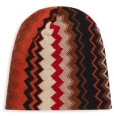 Missoni Chevron Knit Beanie