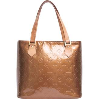 Louis Vuitton Brown Patent leather Handbag