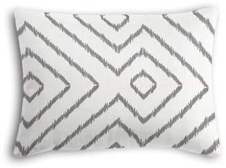 Loom Decor Boudoir Pillow Optrix - Ash