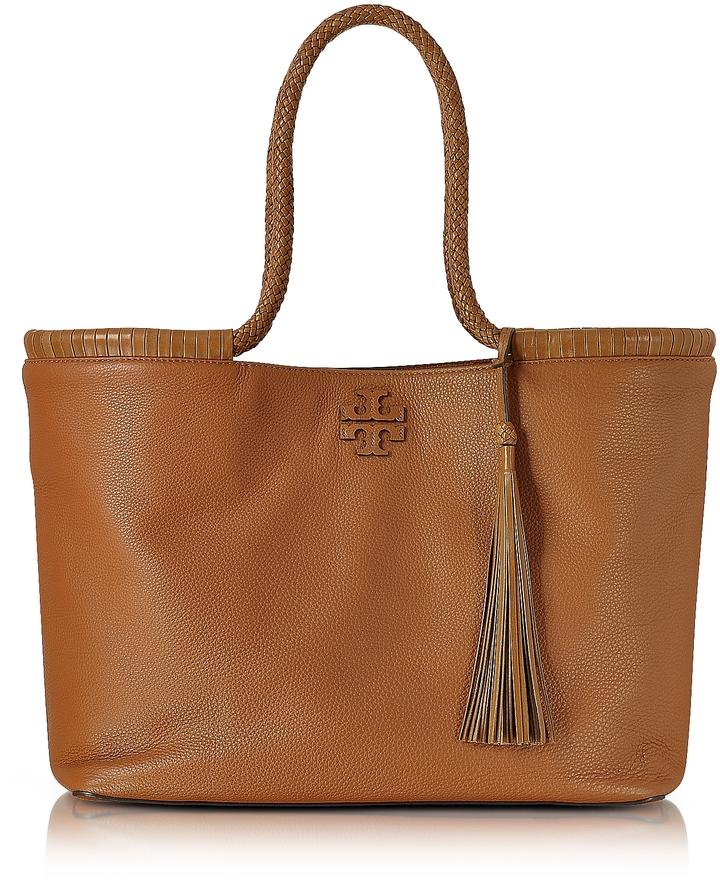 Tory BurchTory Burch Taylor Saddle Pebble Leather Tote Bag
