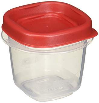 Rubbermaid 712395886298 Easy Find Lids Square 1/2-cup Food Storage Container (Pack of 12 Cups)