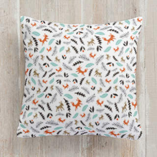 Into the Woods Square Pillow