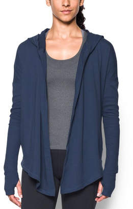 Under Armour Women's Modern Terry Open Front Cardigan