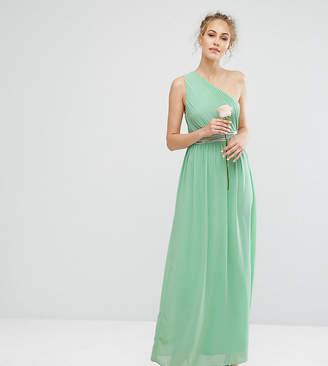 TFNC One Shoulder Embellished Maxi Bridesmaid Dress